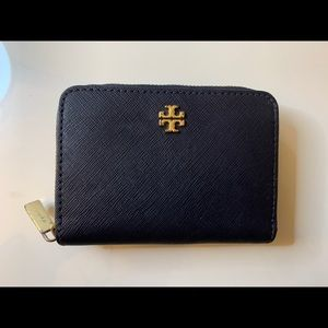 Tory Burch Navy Wallet